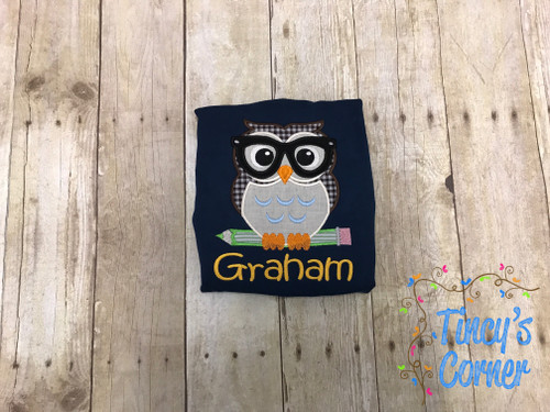 School Owl T-Shirt