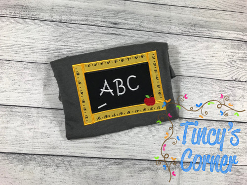 ABC Chalkboard T-Shirt
