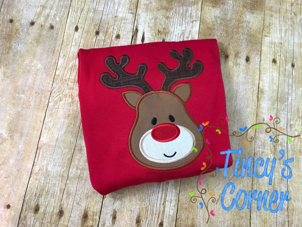 Rudolph the Red Nosed Reindeer Boy T-Shirt