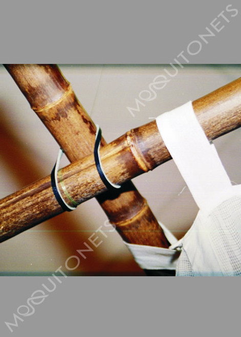 Bamboo frame for mosquito net