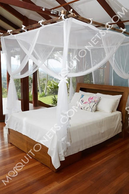 Mosquito Net. Deluxe Polyester. Box. Super King