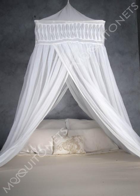 Cotton temple mosquito net