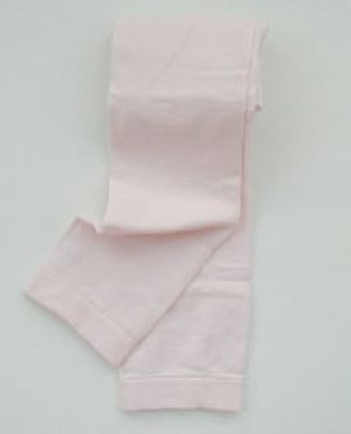 Pink footless tights for toddlers
