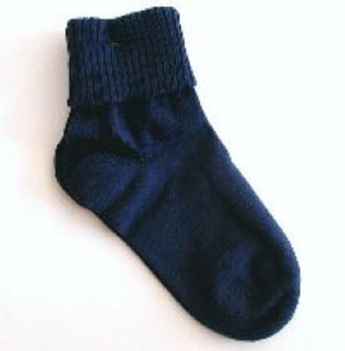 Navy blue childrens socks