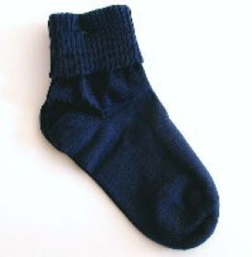 Navy socks for teens and big kids