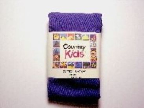 Toddler girls purple tights