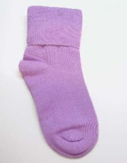 Toddler girls socks orchid purple