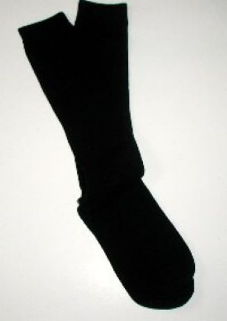 Childrens knee socks black