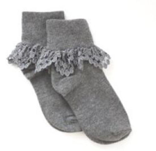 Girls socks gray