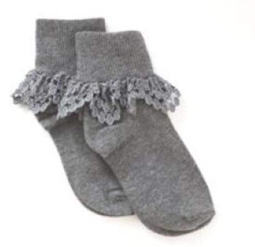 socks for girls gray
