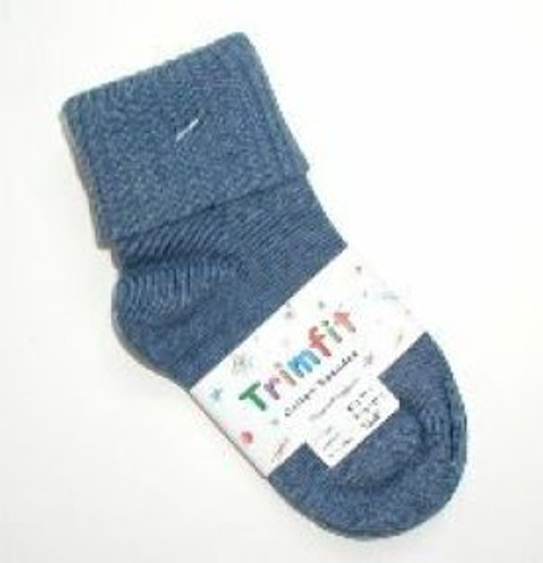 Blue socks for kids or teens