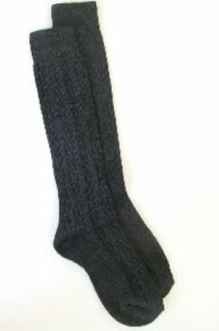 Gray knee socks for girls