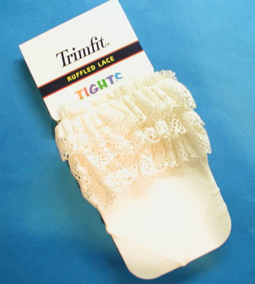 Ivory Rhumba Infant Tights Size 6 - 18 Months
