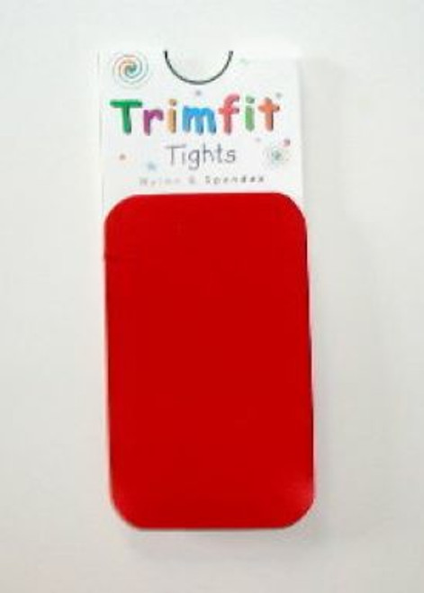 Red infant tights