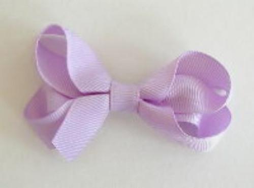 hair bow for girls lavender light purple