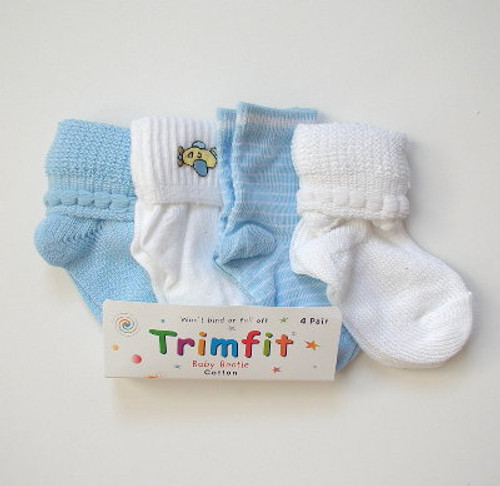 Boys infant socks 4 pack.