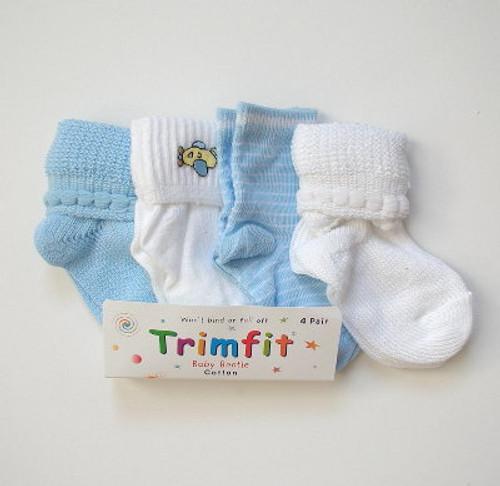 Boys infant socks 4 pack.