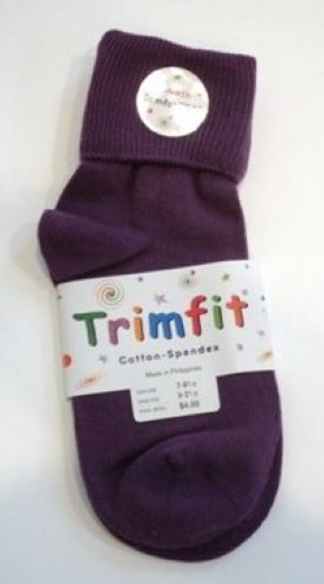 girls socks purple