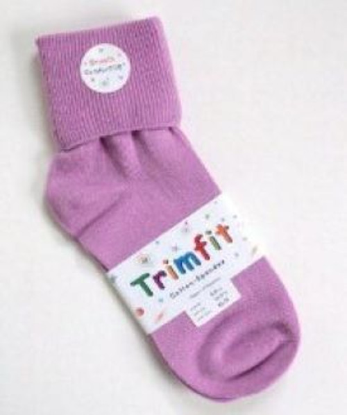 girls socks purple orchid