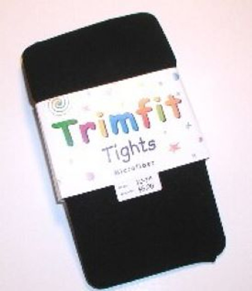 Girls tights black