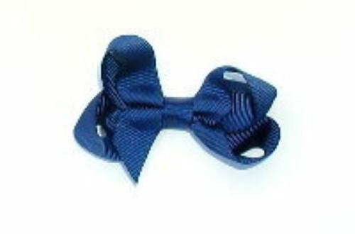 navy hair accessory