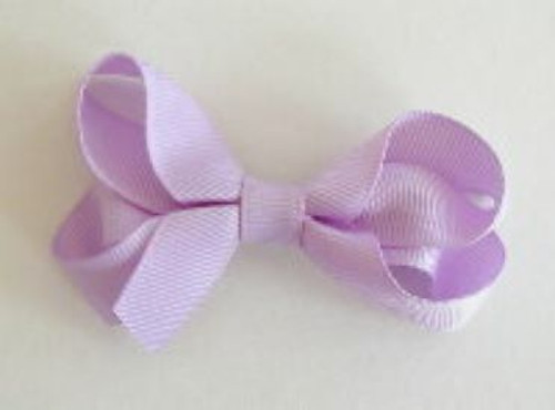 light purple lavender hair bow