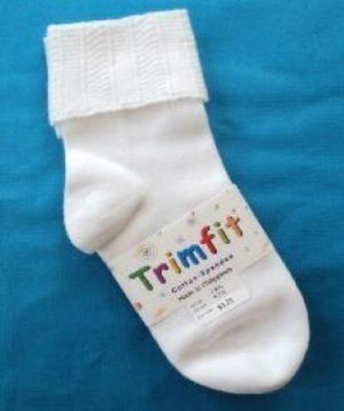 White girls socks