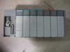Allen Bradley 1746-P2-4 SLC 500 Power Supply w/1746-OW16 5-265VAC 50/60Hz 5-125VDC Output Module, (2) 1746-IV16 10-30VDC Input Modules, 1746-HSTP1 Stepper Control Module, 1747-L524 Processor Unit