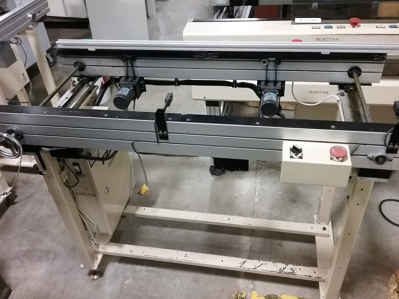 "Fuji CDC-4120-2 47.25"" Inspection Conveyor (180104)"