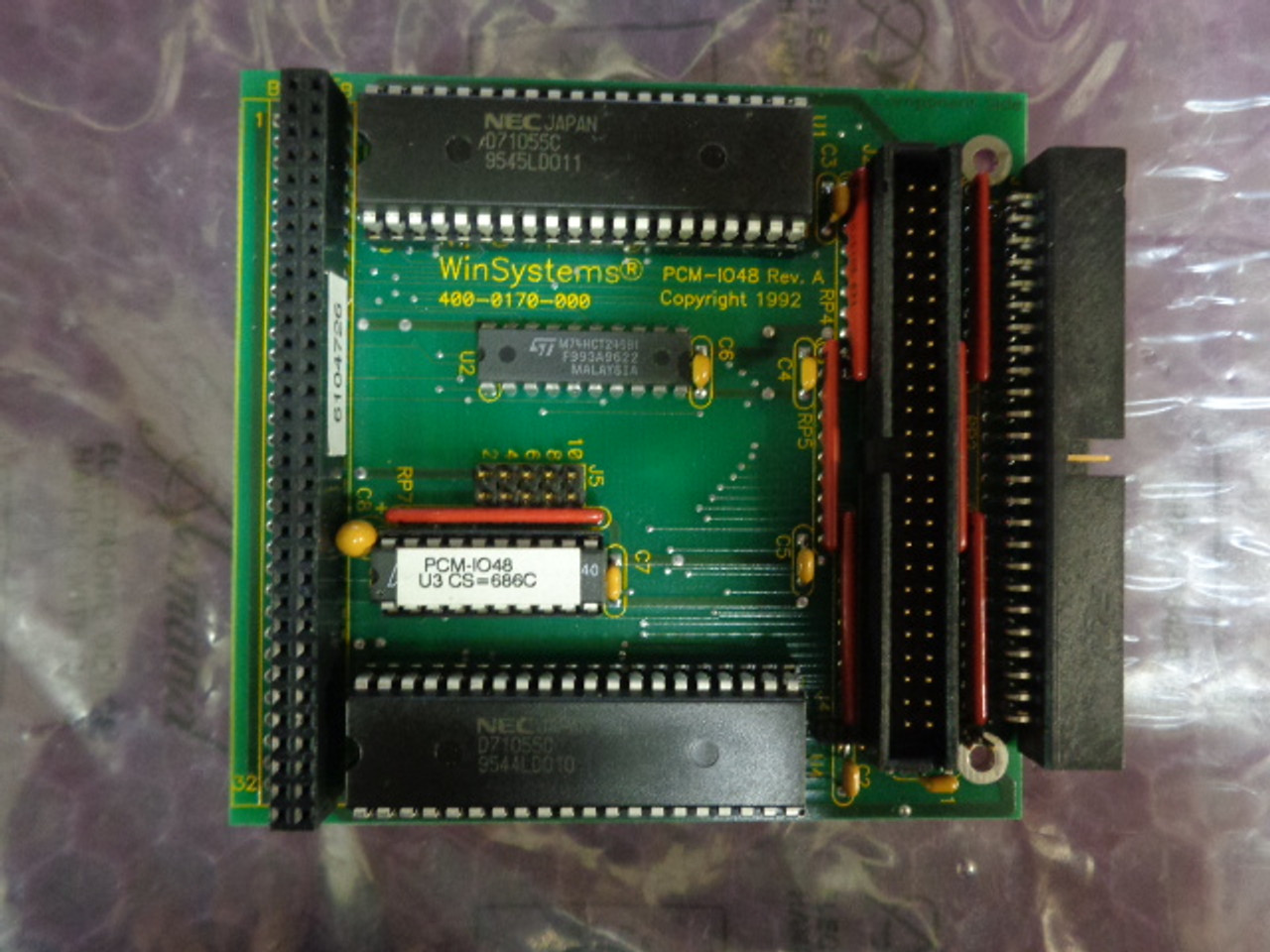 Winsystems 400-0170-000 PCM-1048 Rev. A Circuit Card