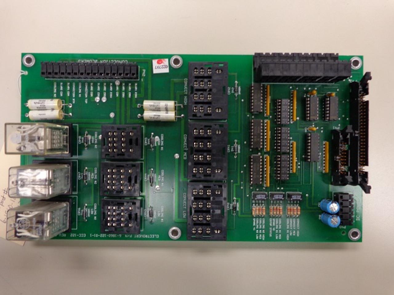 Electrovert Omniflo Control Board 6-1860-122-01-1