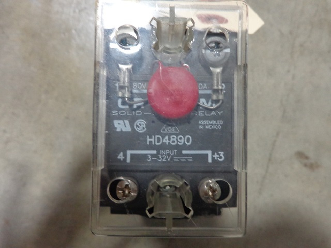Crydom HD4890 Solid State Relay with Heatsink