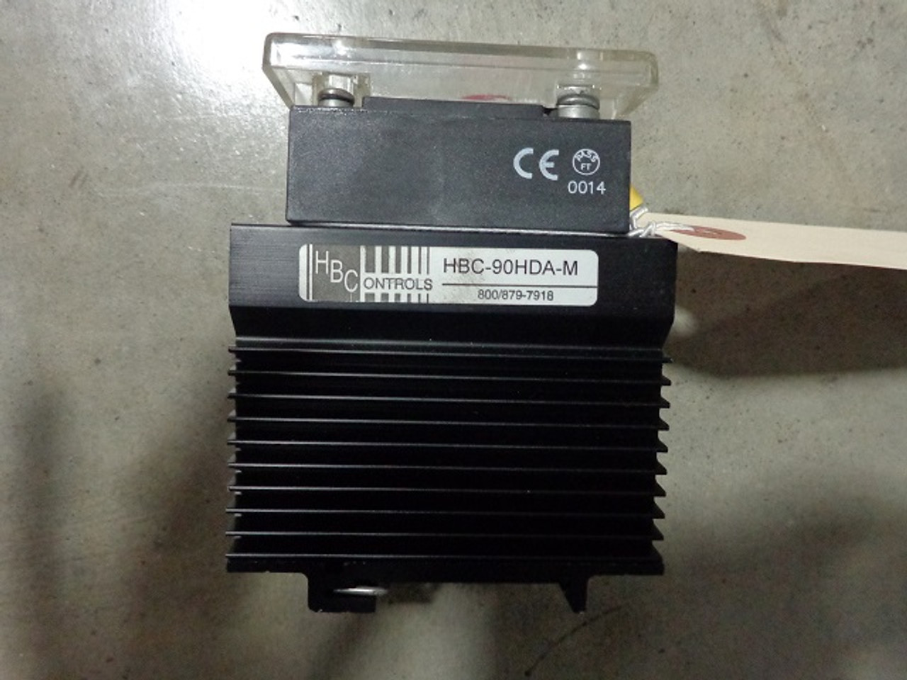 Crydom HD4890 Solid State Relay with Heatsink1