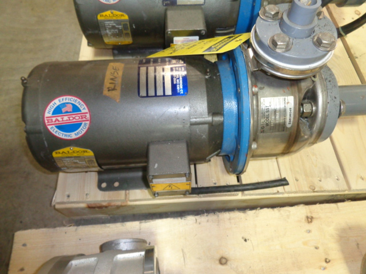 Baldor JMM3212T Motor with Blower
