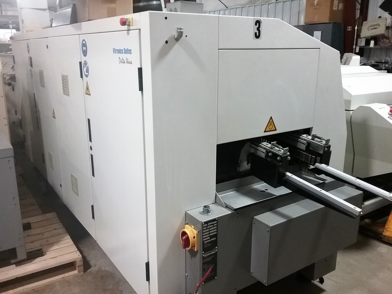 Vitronics 6622CC Wave Solder Machine (C160428)4