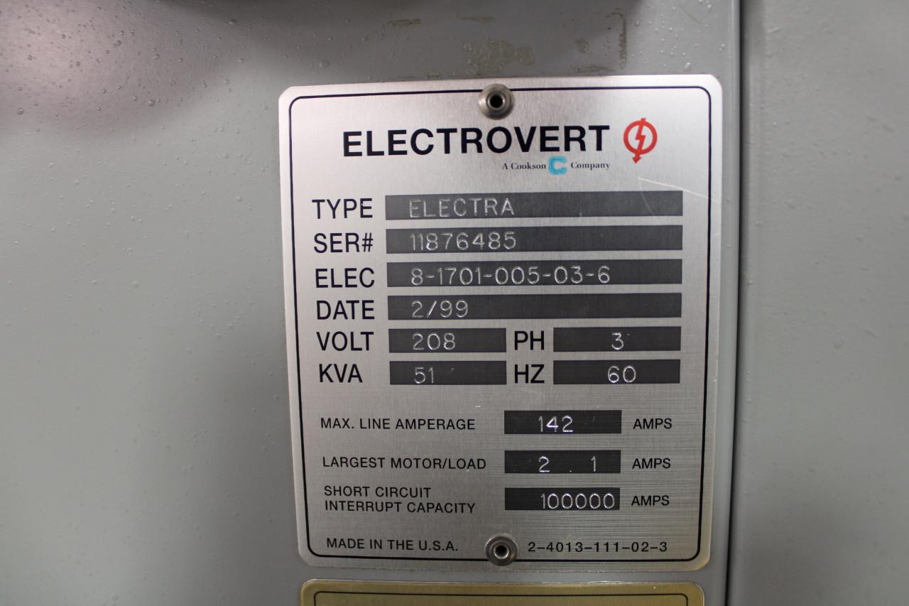 Electrovert Electra Wave Solder (200220)
