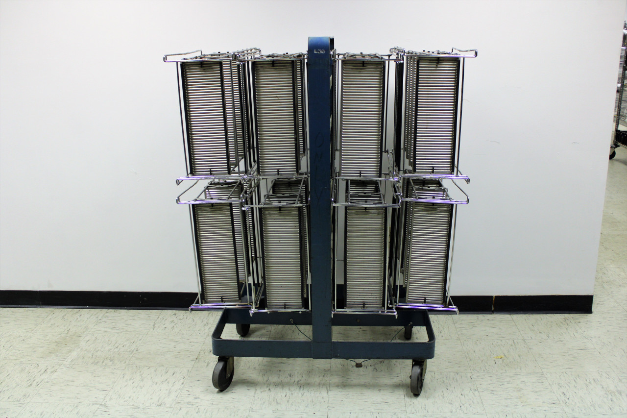 Lee Data PCB Rack with Cart (200302