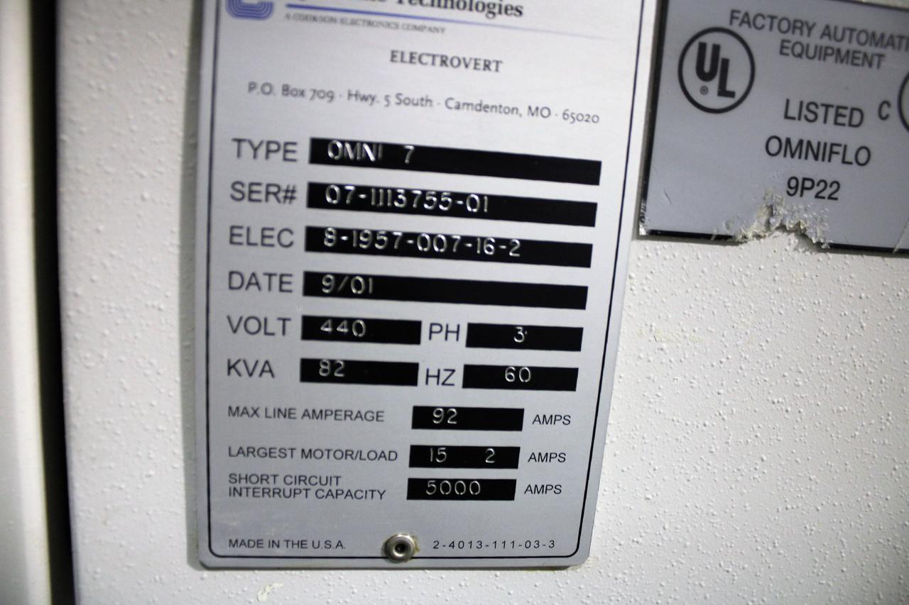 Electrovert Omniflo 7 Reflow Oven (210210)