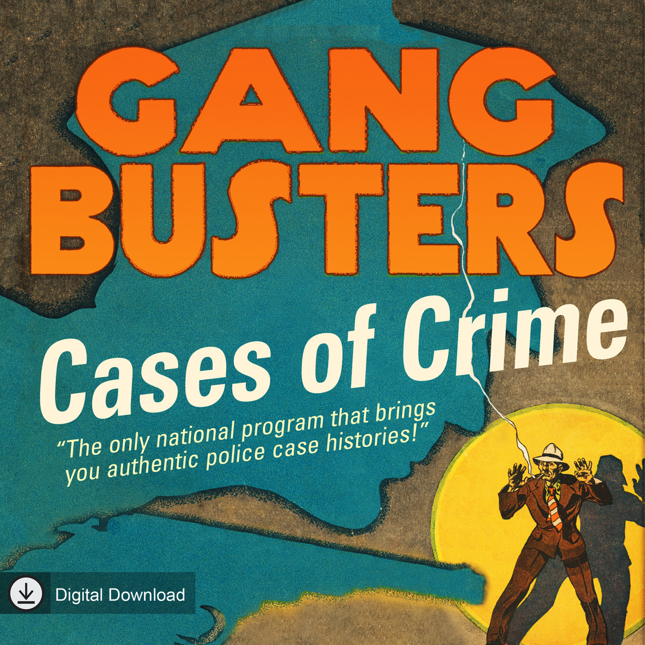 Gang Busters: Cases of Crime (MP3 Download)