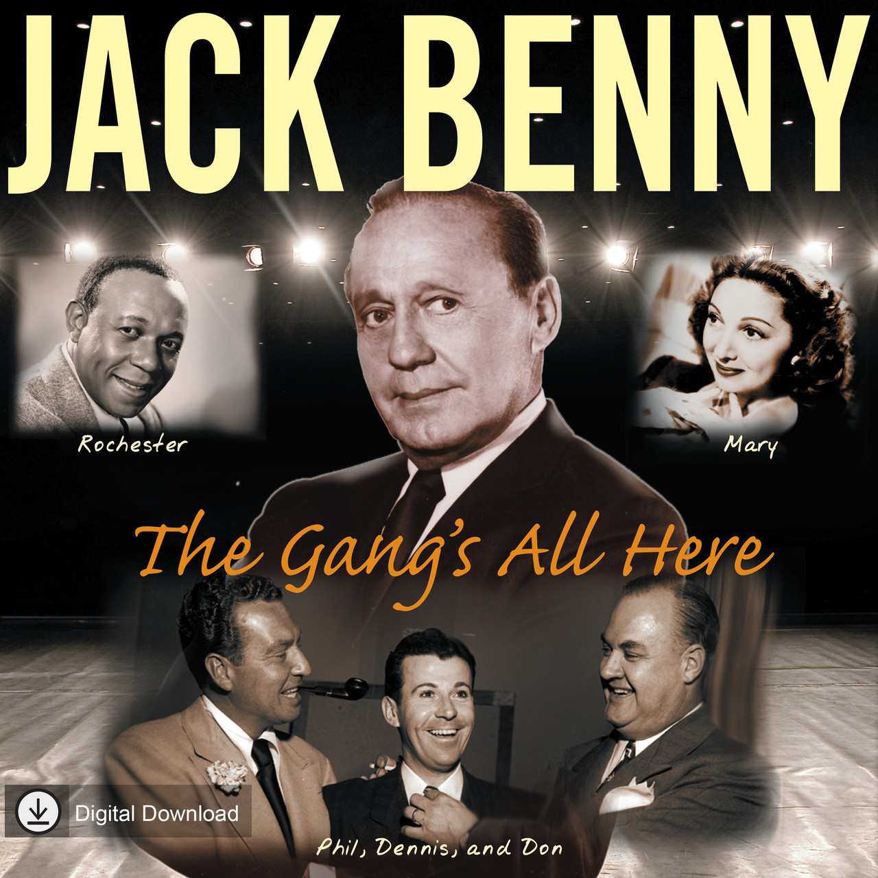 Jack Benny: The Gang's All Here (MP3 Download)