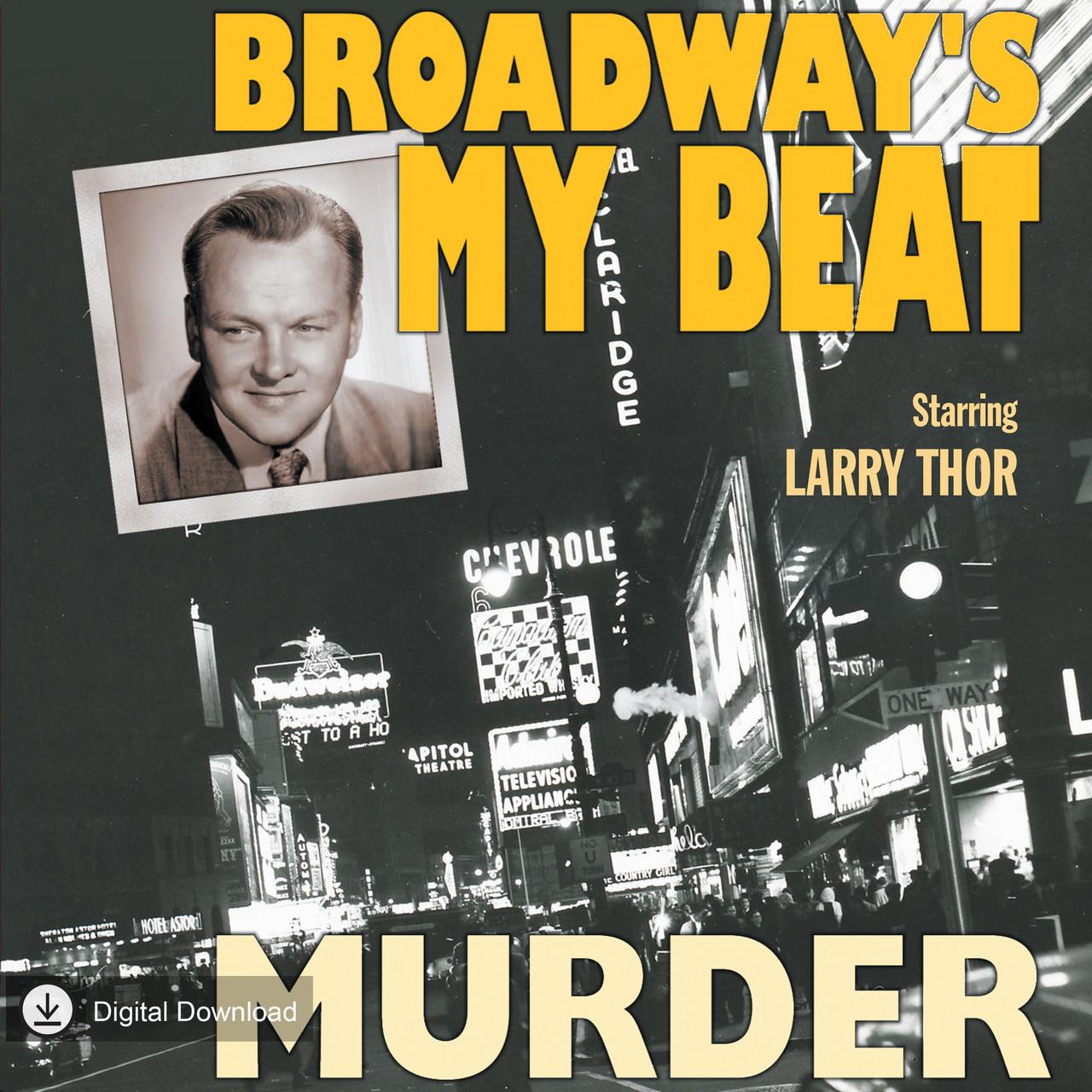 Broadway's My Beat: Murder (MP3 Download)