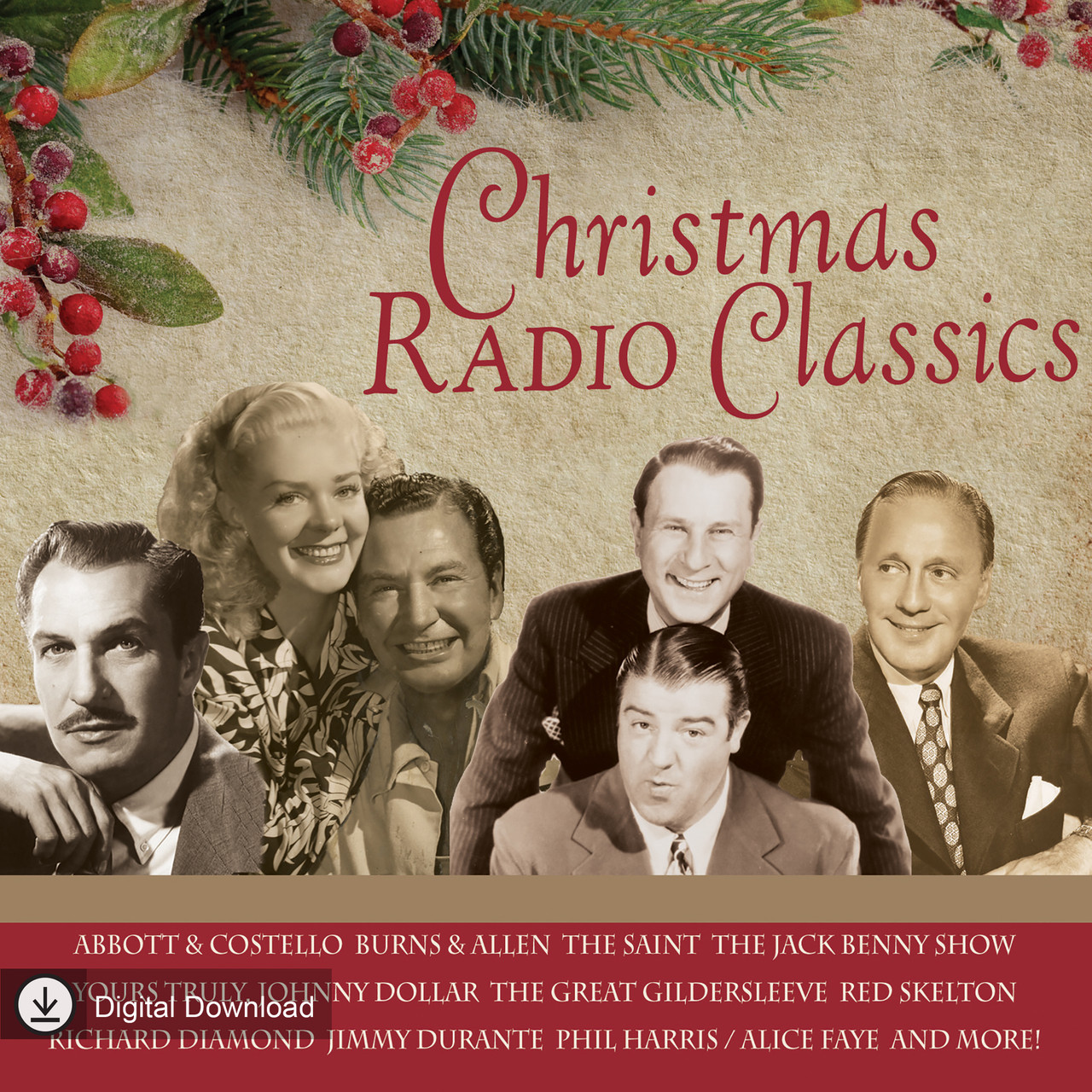 Christmas Radio Classics (MP3 Download)