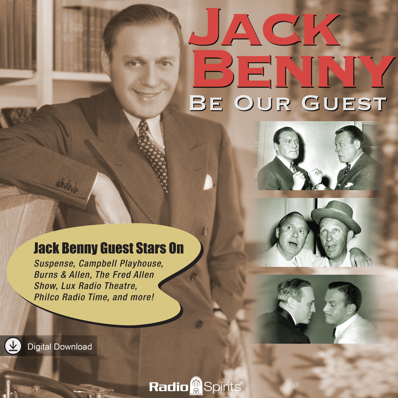 Jack Benny: Be Our Guest (MP3 Download)