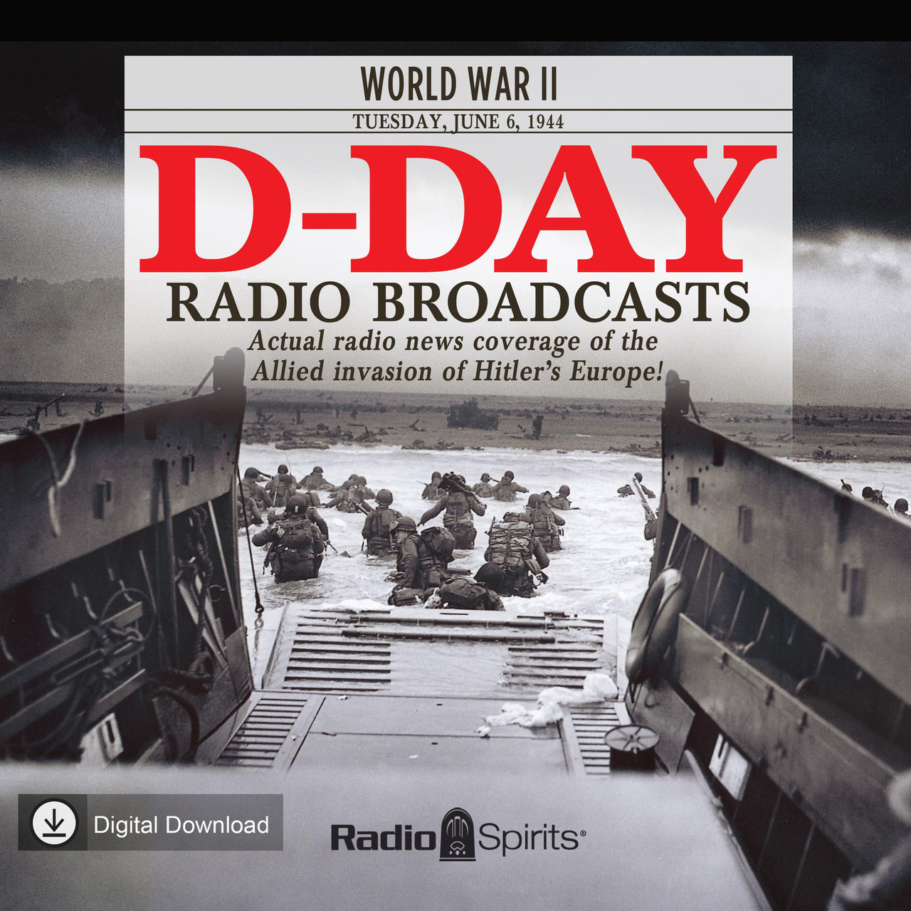 D-Day Radio Broadcasts (MP3 Download)