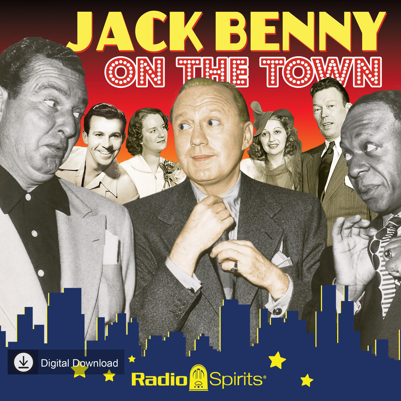 Jack Benny: On the Town (MP3 Download)