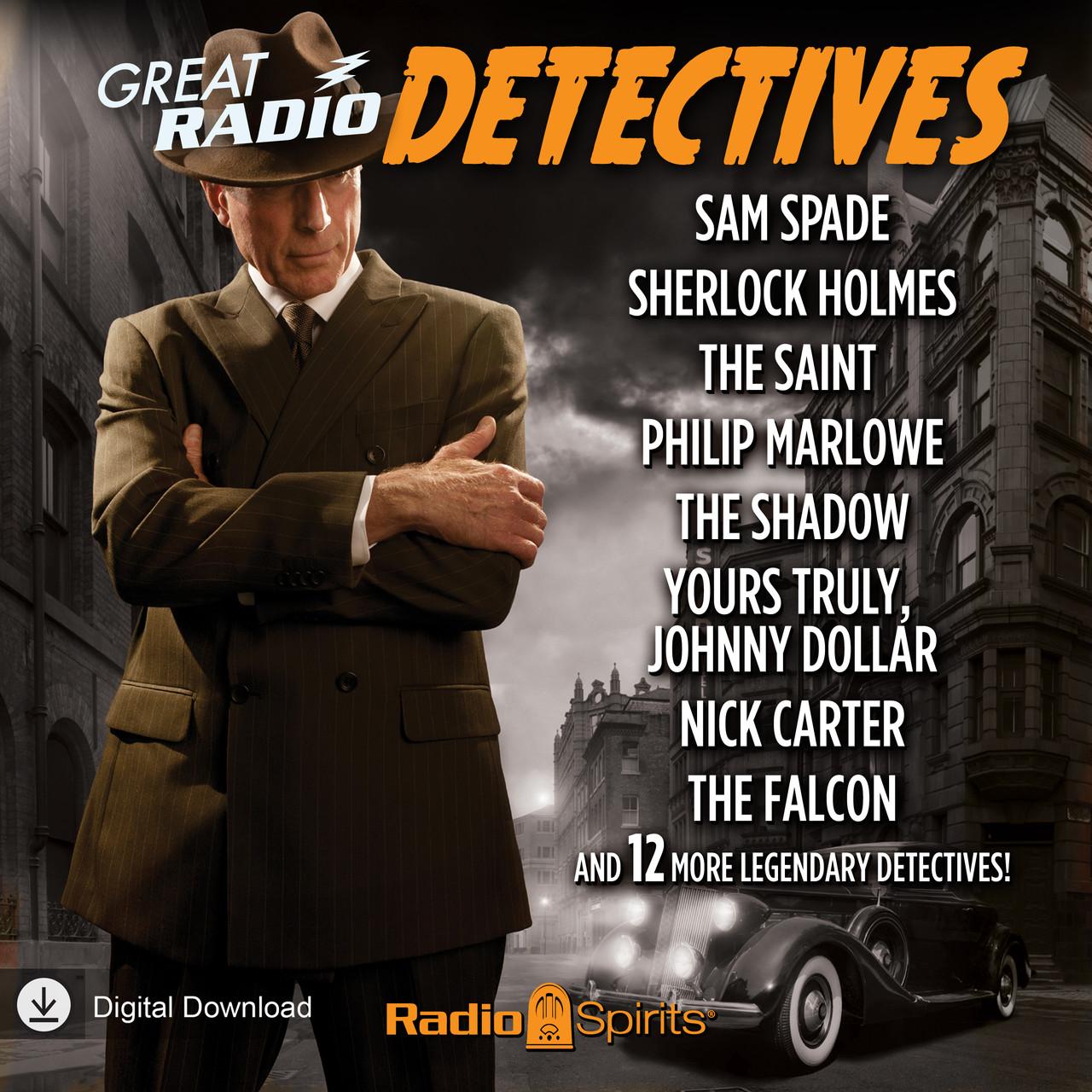 Great Radio Detectives (MP3 Download)
