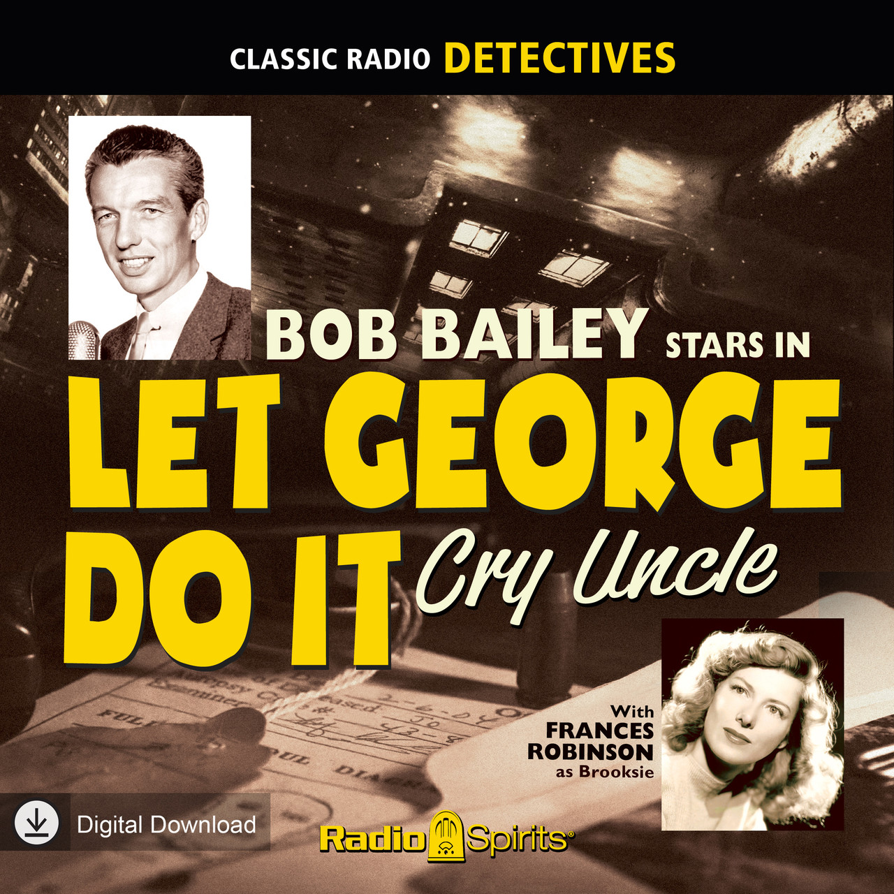 Let George Do It: Cry Uncle (MP3 Download)