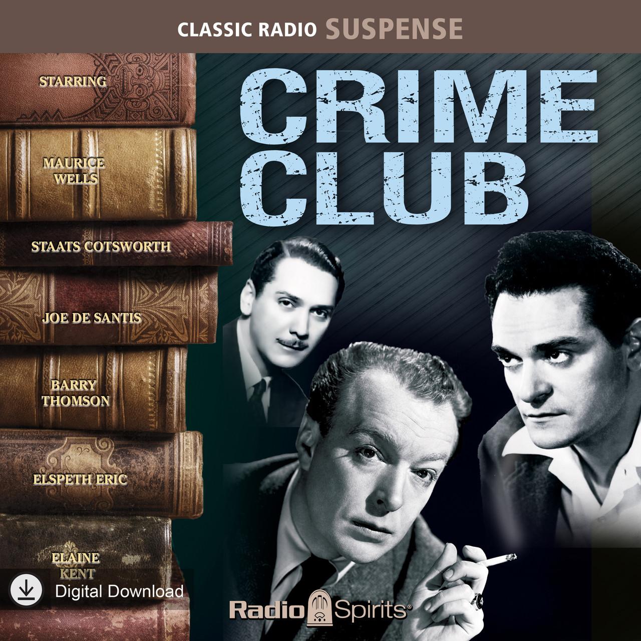 Crime Club (MP3 Download)