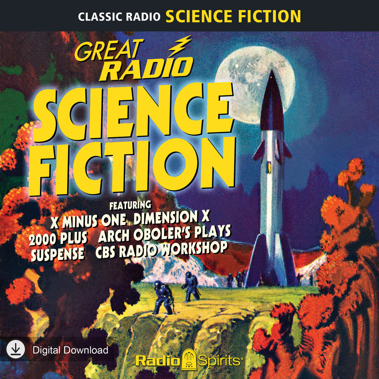 Great Radio Science Fiction (MP3 Download)