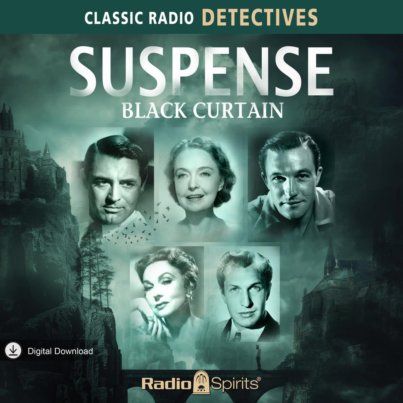 Suspense: Black Curtain (MP3 Download)